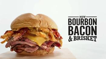 Arby's Bourbon Bacon & Brisket TV Spot, 'Sandwich Party' - Thumbnail 6