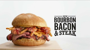 Arby's Bourbon Bacon & Steak TV Spot, 'And' - Thumbnail 5