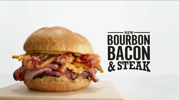 Arby's Bourbon Bacon & Steak TV Spot, 'And' - 2103 commercial airings