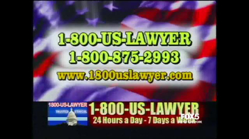 1-800-US-LAWYER TV Spot, 'Any Accident' Featuring Lawrence Taylor - Thumbnail 1