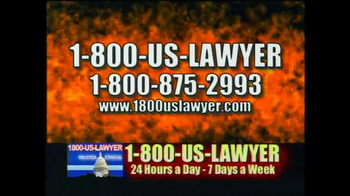1-800-US-LAWYER TV Spot, 'Any Accident' Featuring Lawrence Taylor - Thumbnail 3