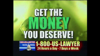 1-800-US-LAWYER TV Spot, 'Any Accident' Featuring Lawrence Taylor - Thumbnail 4