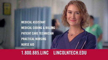Lincoln Technical Institute TV Spot, 'Allied Health'