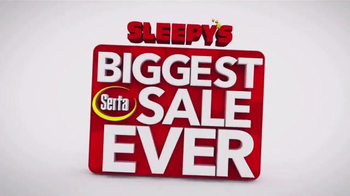 Sleepy's Biggest Serta Sale Ever TV Spot, 'Game Show' - Thumbnail 8