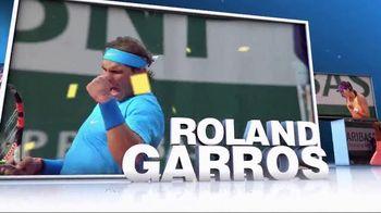 Tennis Channel Plus TV Spot, '2016 Roland Garros'