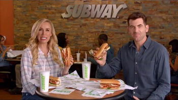 Subway TV Spot, 'FX Network: Breakfast Deal' - 4 commercial airings