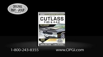 OPGI Original Parts Group Inc TV Spot, 'Oldsmobile and Cutlass Parts' - Thumbnail 2