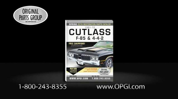 OPGI Original Parts Group Inc TV Spot, 'Oldsmobile and Cutlass Parts' - Thumbnail 3