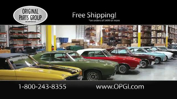 OPGI Original Parts Group Inc TV Spot, 'Oldsmobile and Cutlass Parts'