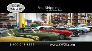 OPGI Original Parts Group Inc TV Spot, 'Oldsmobile and Cutlass Parts' - Thumbnail 5