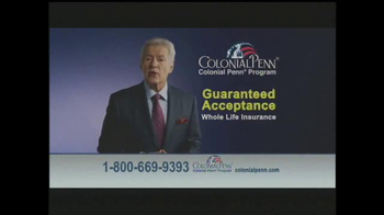 Colonial Penn TV Spot, 'Guaranteed Acceptance' Featuring Alex Trebek - Thumbnail 3