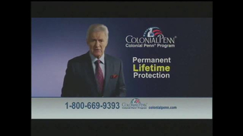 Colonial Penn TV Spot, 'Guaranteed Acceptance' Featuring Alex Trebek - 260 commercial airings