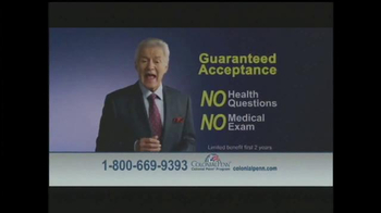 Colonial Penn TV Spot, 'Guaranteed Acceptance' Featuring Alex Trebek - Thumbnail 6