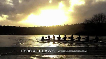 Weitz and Luxenberg TV Spot, 'Rowing Team'