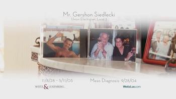 Weitz and Luxenberg TV Spot, 'Mrs. Siedlecki' - Thumbnail 2