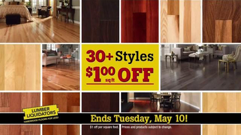 Lumber Liquidators TV Spot, 'Dollar Discount' - Thumbnail 5