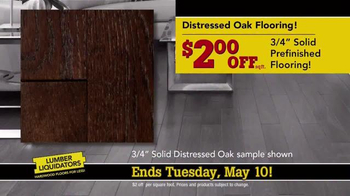 Lumber Liquidators TV Spot, 'Dollar Discount' - Thumbnail 7