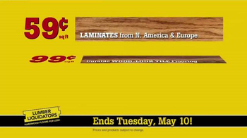 Lumber Liquidators TV Spot, 'Dollar Discount' - Thumbnail 8