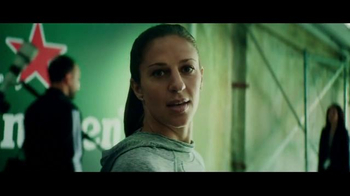 Heineken TV Spot, 'Soccer Is Here: Carli Lloyd' - Thumbnail 6