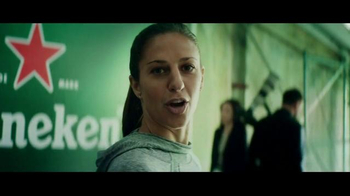 Heineken TV Spot, 'Soccer Is Here: Carli Lloyd' - Thumbnail 7