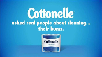 Cottonelle Clean Care TV Spot, 'Happy Bum' Featuring Cherry Healey