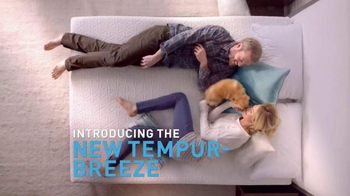 Tempur-Pedic TEMPUR-Breeze TV Spot, \'It\'s a Breeze\'