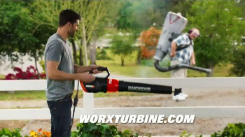 Worx Turbine 600 Electric Blower TV Spot, \'Revolutionary Blowing Power\'