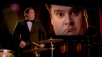 Pizza Hut Bacon Stuffed Crust TV Spot, 'Drum Roll' Feat. Bobby Moynihan - Thumbnail 2