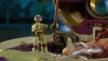 Teenage Mutant Ninja Turtles Micro Mutants TV Spot, 'Donnie Pet Playset' - Thumbnail 8