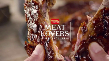 Golden Corral Meat Lovers Spectacular TV Spot, 'Favoritos' [Spanish]