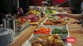 Golden Corral Meat Lovers Spectacular TV Spot, 'Favoritos' [Spanish] - Thumbnail 7