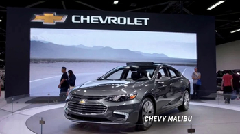 2017 Chevrolet Cruze LT TV Spot, 'Attention at the Auto Show' [T2] - Thumbnail 1