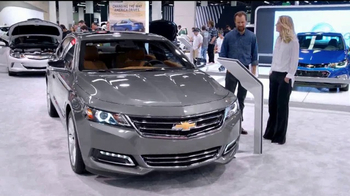 2017 Chevrolet Cruze LT TV Spot, 'Attention at the Auto Show' [T2] - Thumbnail 6