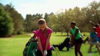 LPGA-USGA Girls Golf TV Spot, 'Changing the Face of the Game' - Thumbnail 4