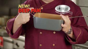 Gotham Steel Square Pan TV Spot, 'Deep Dish Square Pan' - 61 commercial airings