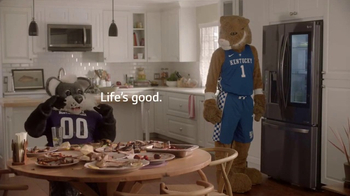 LG InstaView Door-in-Door Refrigerators TV Spot, 'Mascots Knock'