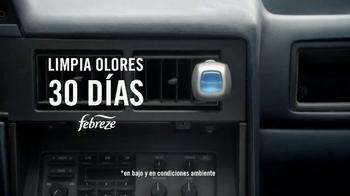 Febreze Car Vent Clip TV Spot, 'Automóvil de hamburguesa' [Spanish] - Thumbnail 4