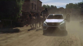 2017 Mercedes-Benz GLE TV Spot, 'Movie Studio' [T1] - 369 commercial airings