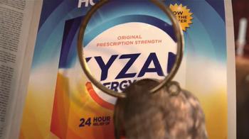 XYZAL Allergy 24HR TV Spot, 'Big News' - Thumbnail 5