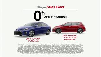 Toyota 1 for Everyone Sales Event TV Spot, 'Something Safe' [T2] - Thumbnail 6