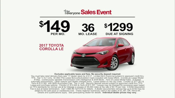Toyota 1 for Everyone Sales Event TV Spot, 'Something Safe' [T2] - Thumbnail 7