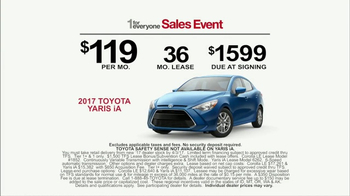 Toyota 1 for Everyone Sales Event TV Spot, 'Something Safe' [T2] - Thumbnail 8