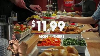Golden Corral Meat Lovers Spectacular TV Spot, 'Monday-Thursday' - Thumbnail 5