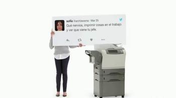 Apple iPad Pro TV Spot, 'Ya no hay que imprimir' [Spanish] - Thumbnail 1