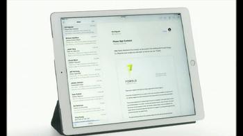 Apple iPad Pro TV Spot, 'Ya no hay que imprimir' [Spanish] - Thumbnail 4