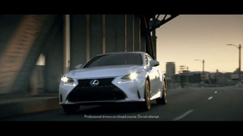 Lexus Command Performance Sales Event TV Spot, 'Power and Precision' [T2] - Thumbnail 1