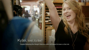 Weight Watchers TV Spot, 'Kylei: Join for Free' Featuring Oprah Winfrey - 25 commercial airings