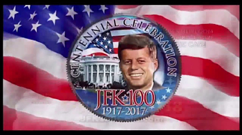 New England Mint Coins JFK-100 Half Dollar TV Spot, 'American Hero' - Thumbnail 3
