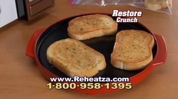 Reheatza Microwave Crisper TV Spot, 'Crispy Crunchy Winner' - Thumbnail 8