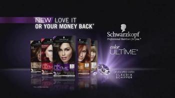 Schwarzkopf Color Ultime TV Spot, 'Diamond Brilliant' - Thumbnail 9